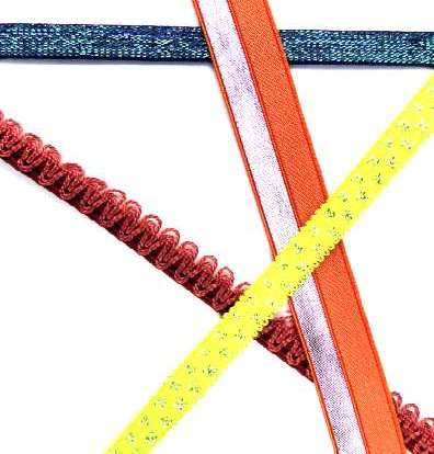 Fashion Textile Ribbons - Specializing in elastic ribbons, Trims, trimmings,& Notions Manufacturers